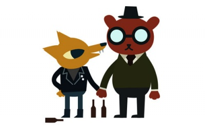 Gregg and Angus, the hipster bear of my heart.