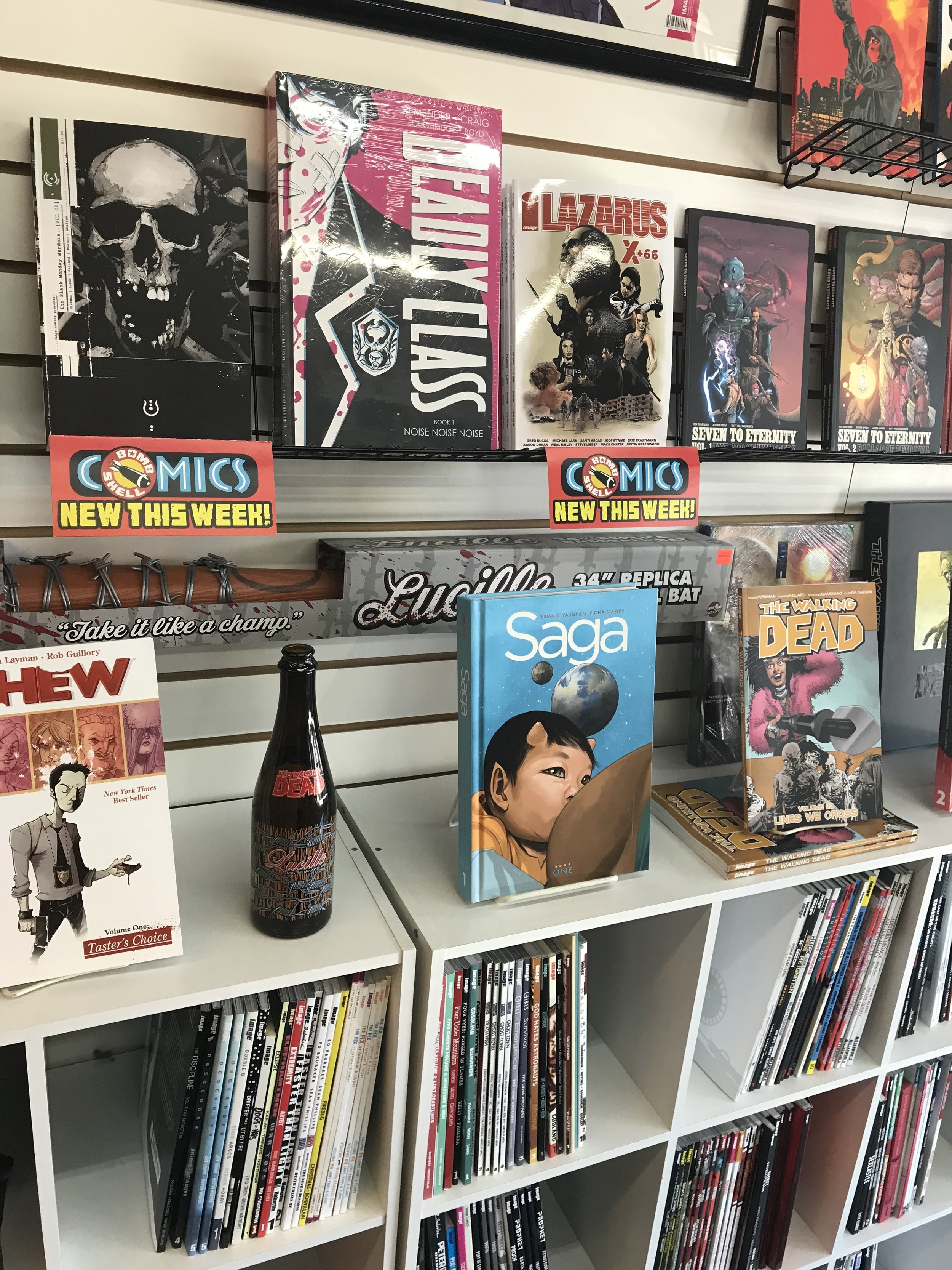 Look at that sweet Image shelf!