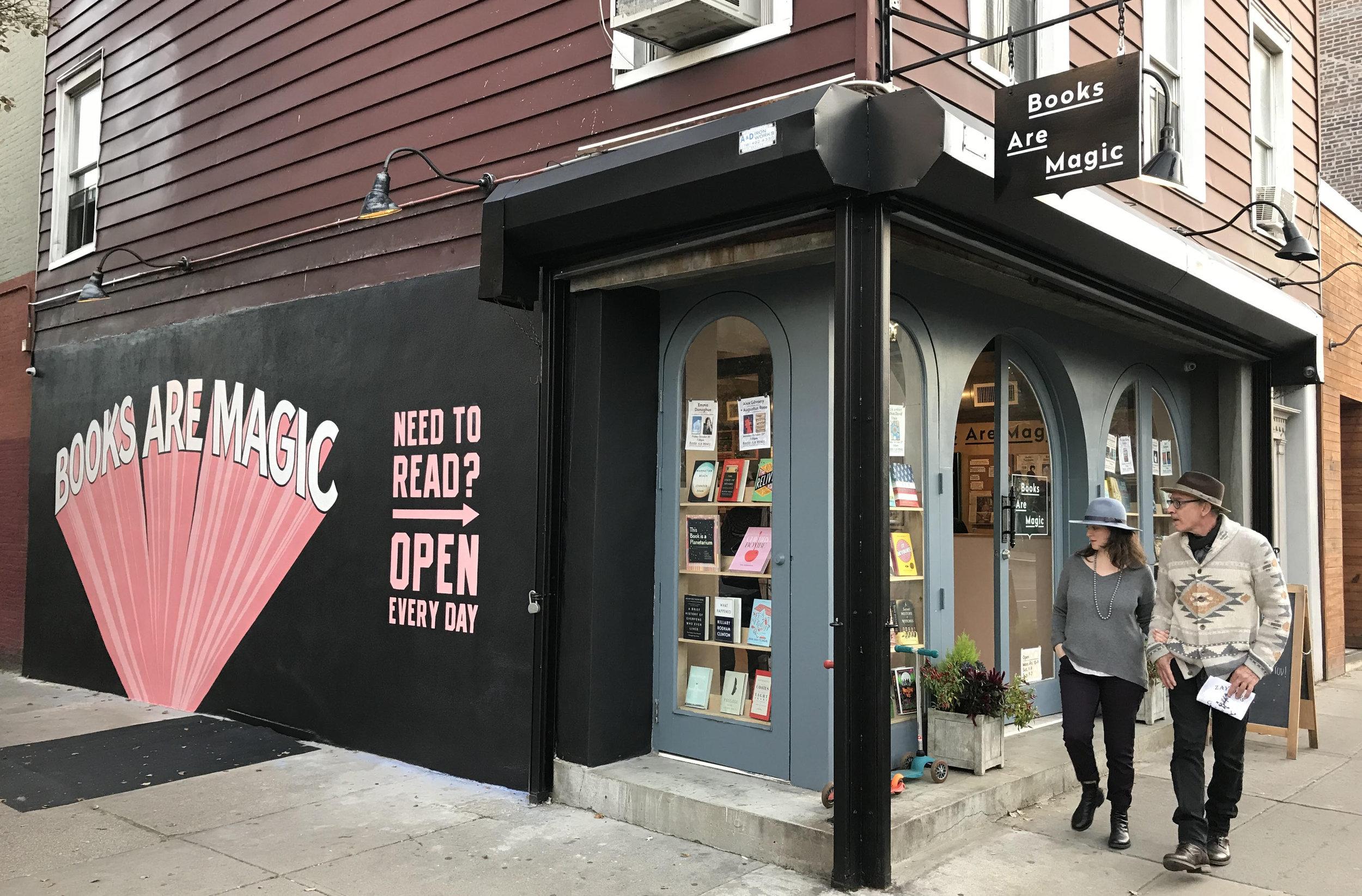 Books Are Magic in Brooklyn, NY