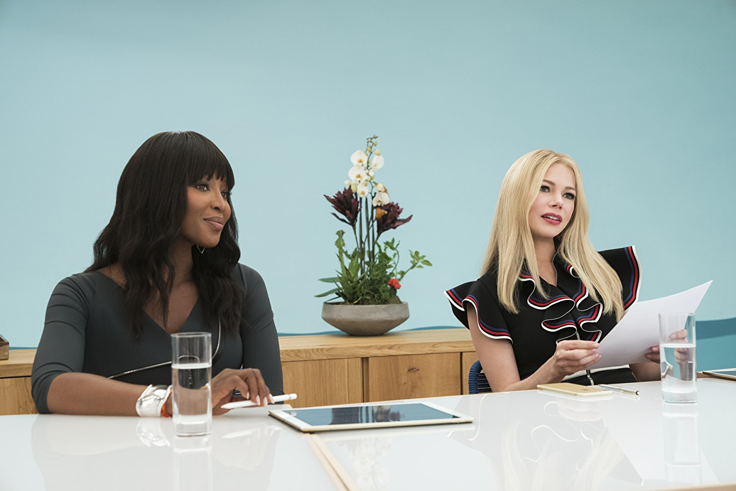 Naomi Campbell and Michelle Williams
