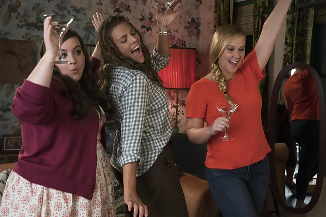 Aidy Bryant, Busy Philipps, and Amy Schumer again.