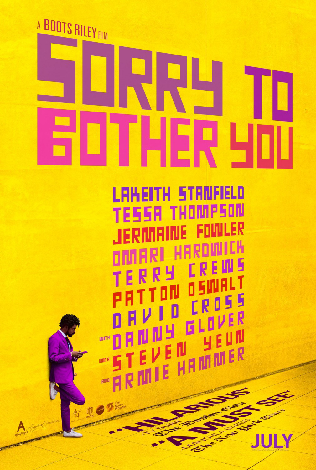 Othersode #17: Murder Murder Murder, Kill Kill Kill / Sorry to Bother You - Hi, um, sorry to bother you, this is the #BookSquad, and we just want to talk to you about this movie we saw. Listen as we discuss Boots Riley's directorial debut, Sorry to Bother You, starring LaKeith Stanfield and Tessa Thompson. We talk about