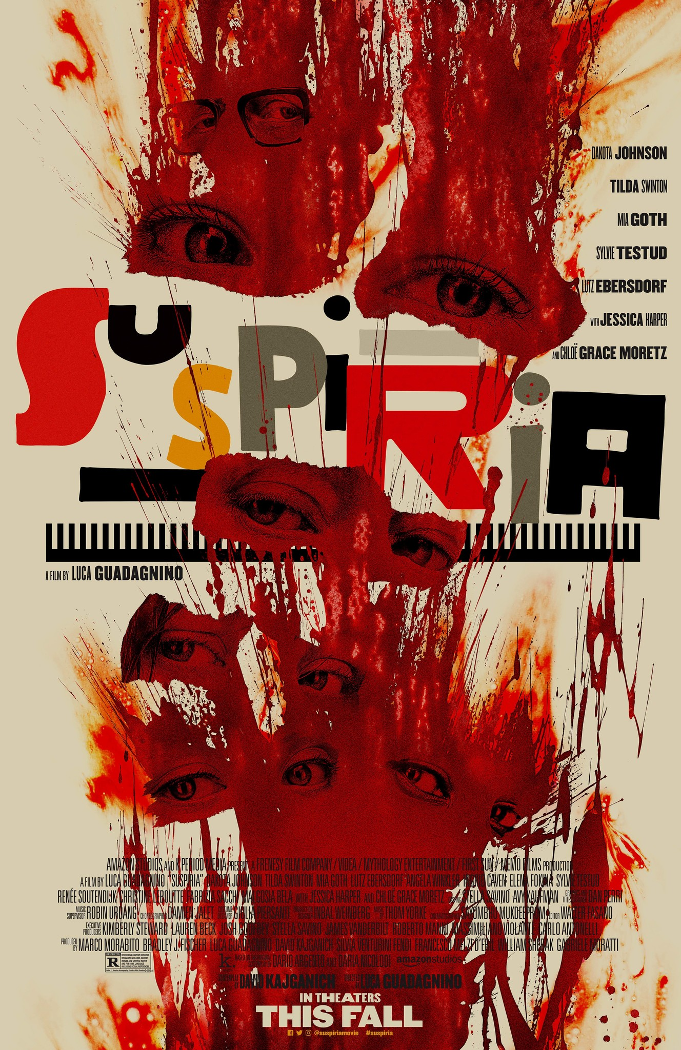 Othersode #21: Swilda Tinton / Suspiria - Join the #BookSquad — er, #BookCoven — for a not-so-scary look at the new Suspiria, directed by Luca Guadagnino. We talk about what worked and what didn't work (but mostly what didn't work) in this re-imagining of the 1977 film. Is the dancing good? Why is Tilda Swinton playing so many characters? And most importantly, what would Suspiria sound like as a Rihanna song? We answer all this and more, plus we hear some listener feedback on Castle Rock! Read along with us for our next #bookpisode on Celeste Ng's Little Fires Everywhere, which drops on December 3rd.