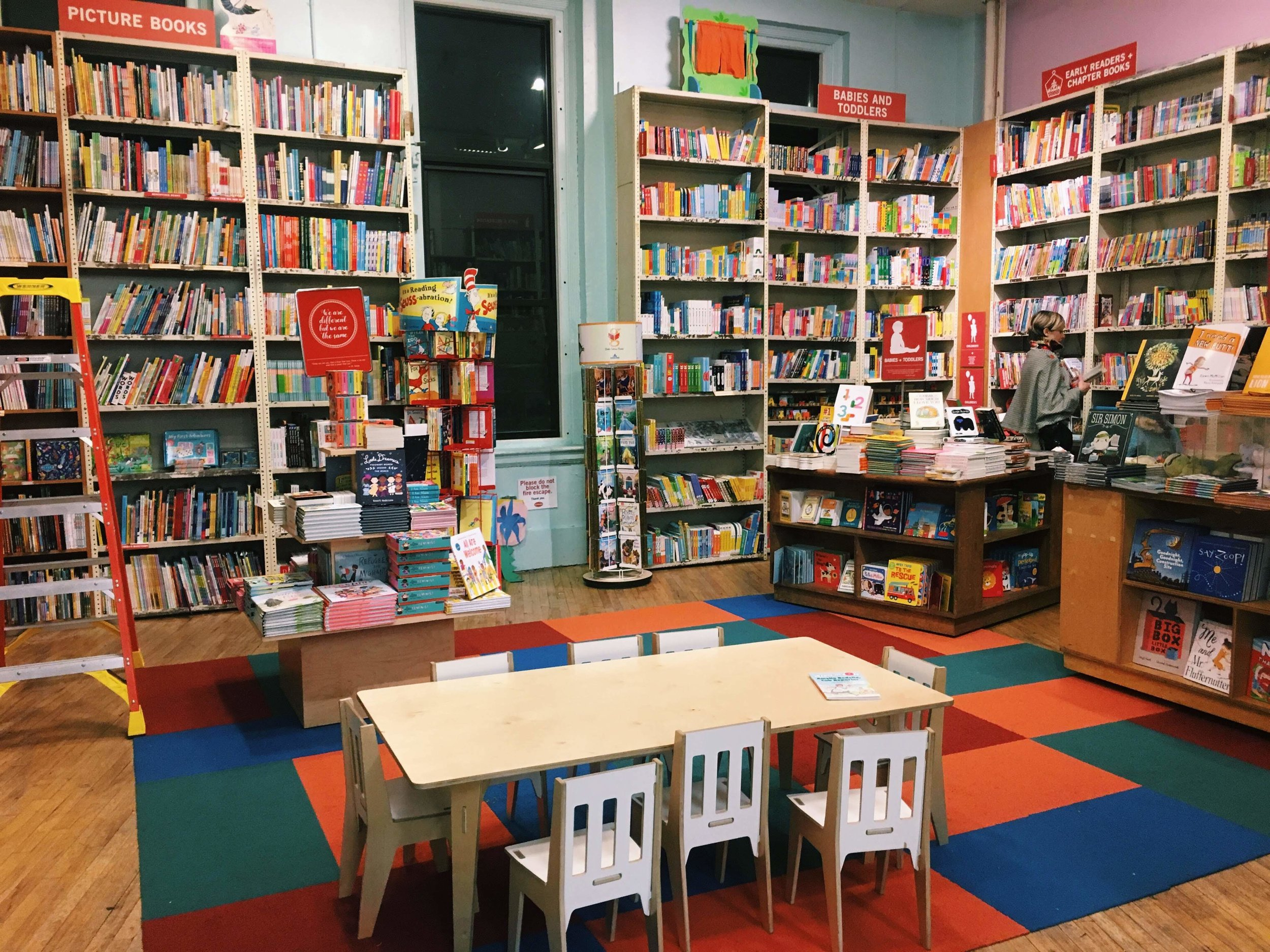 the adorable children's section!