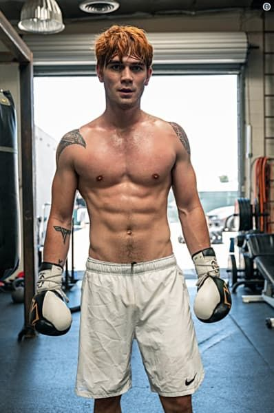but you know what kj apa is responsible for? THEM ABS, BITCH