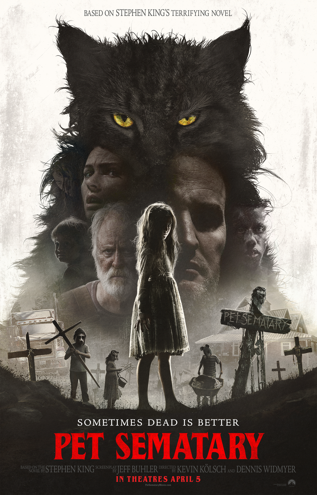 Othersode #26: Sometimes Dad Is Better / Pet Sematary - Get unburied with the #BookSquad (and special guest Charlie, Emily's dad!) as we come back from the dead to talk about the new 2019 film adaptation of Stephen King's Pet Sematary. We discuss grief, death and the big changes between the book (and the 1989 film) and the new movie. Plus, you get to learn a little about our childhood pets! Then we dig into some Captain Marvel listener feedback and tell you what's on the #BookSquadBlog right now. Up next for our #bookpisode: Gingerbread by Helen Oyeyemi. Read along with us for that and for our next #othersode, where we'll (probably) hate on Stranger in the House by Shari Lapena.