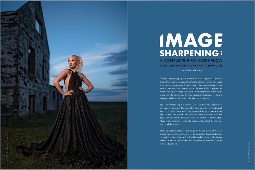 As the photo appeared in the magazine  Model Arna Ýr Photographer  Sal Cincotta