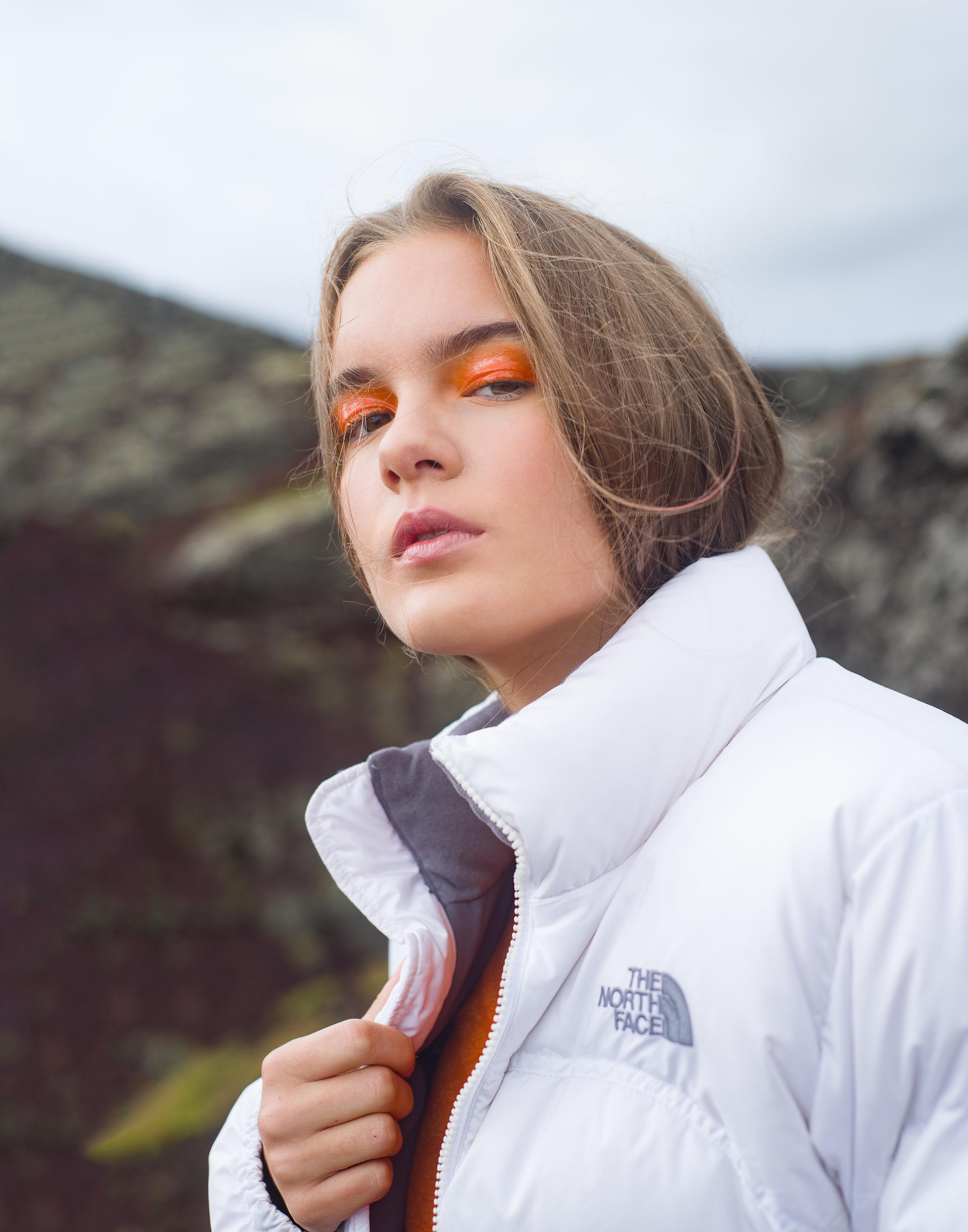 model Lana photographer  Justin W. King