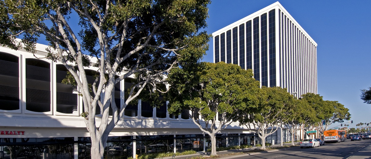 The original location of  The Ayn Rand Institute  in Marina Del Rey, California