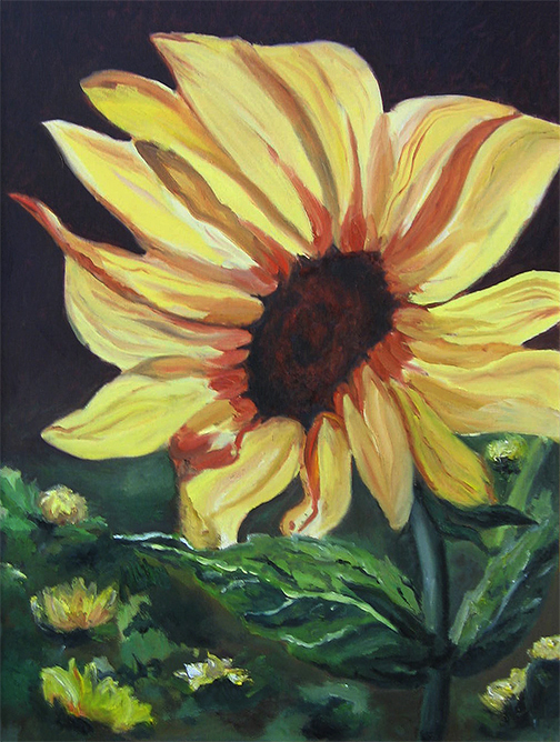 A Sunflower for My Mother