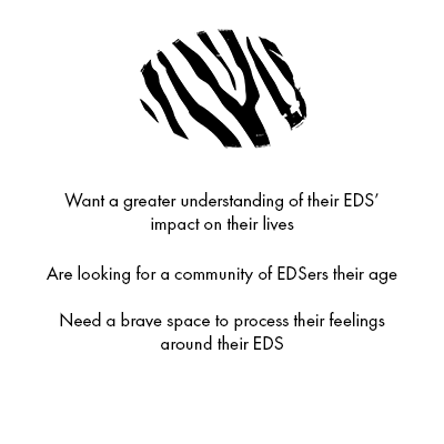 [Image] EDS support group for teens is for teens who want a greater understanding of their EDS' impact on their lives, are looking for a community of EDSers their age, or need a brave space to process their feelings around their EDS. Interfaith Bridge Counseling offers teen therapy groups in Denver, Colorado.