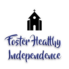 "[Image]A Christian house of worship building in black, followed by purple text that reads ""Foster Healthy Independence."" Interfaith Bridge Counseling offers low-cost counseling to tweens & teens in Denver, CO."