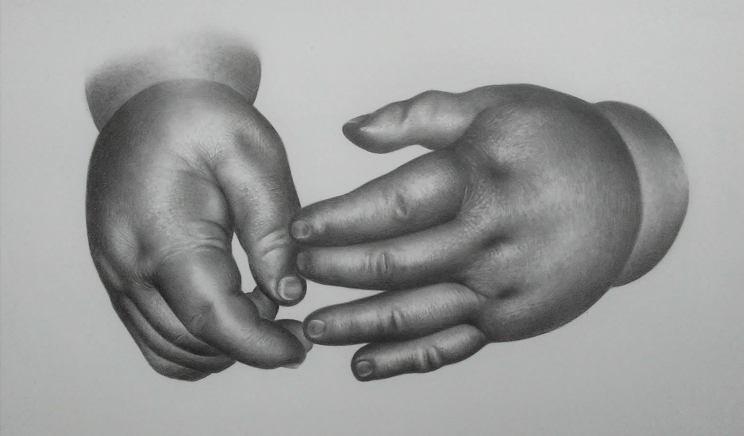 MY SON'S HANDS