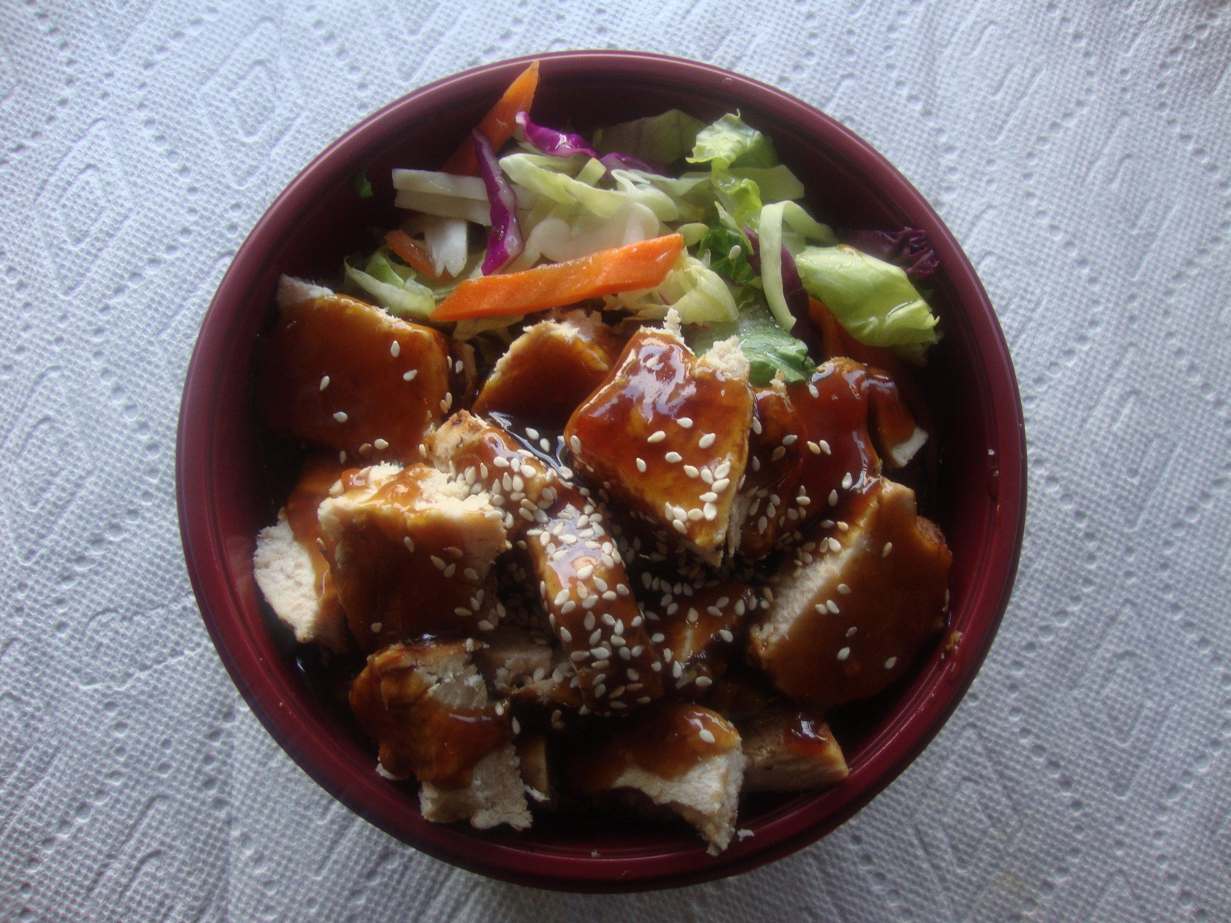 Chicken Breast Teriyaki Bowl