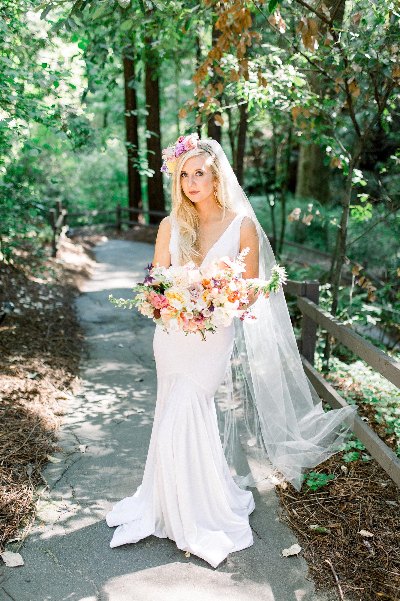kim baker beauty luxury lifestyle and bridal makeup artist san jose bay area california onsite traveling camp harmon wedding style photoshoot amber dejoy photography bride portrait wedding