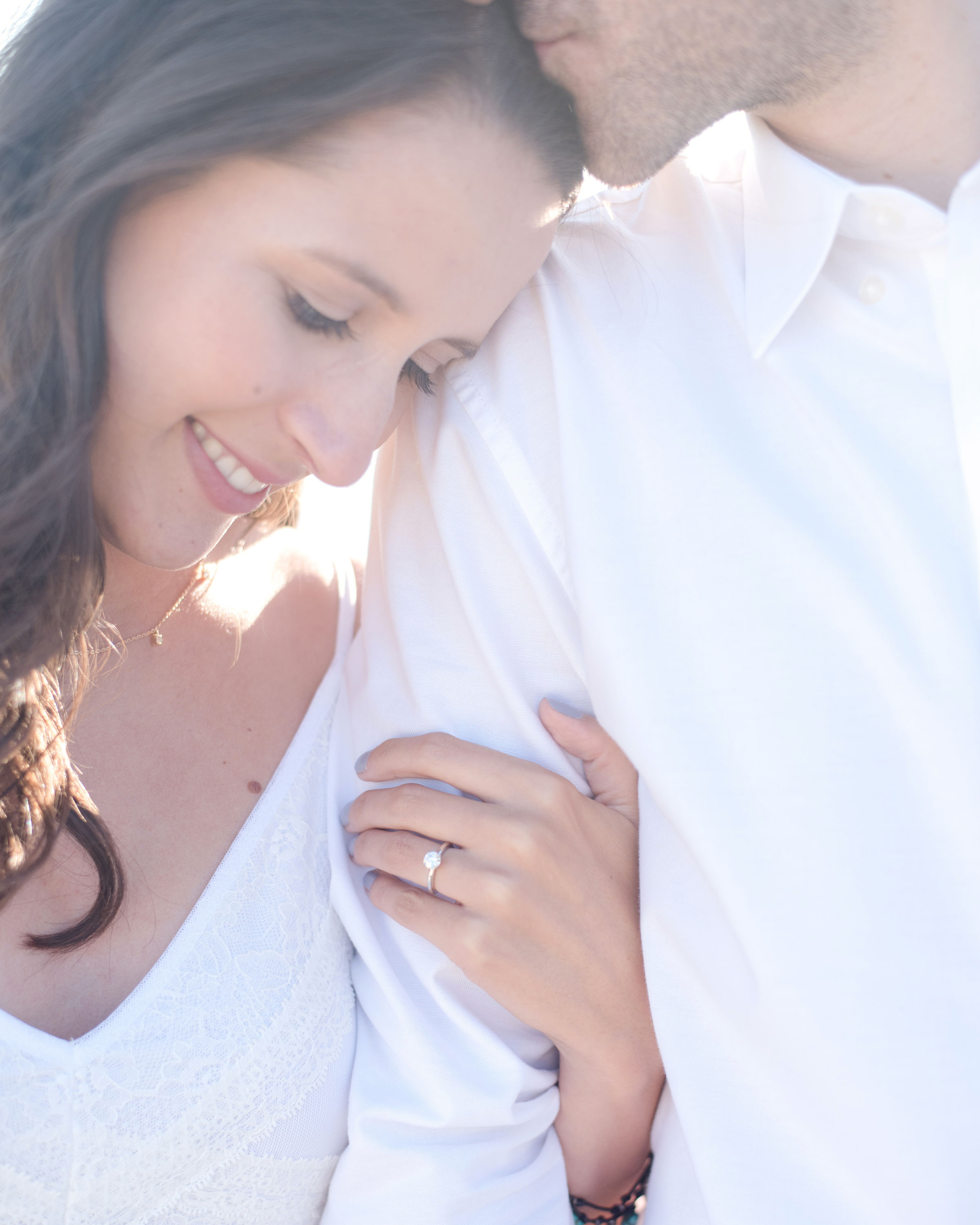 engagement photos light bright and airy by quiana marie photography natural soft makeup by kim baker beauty san jose california bridal and lifestyle makeup artist
