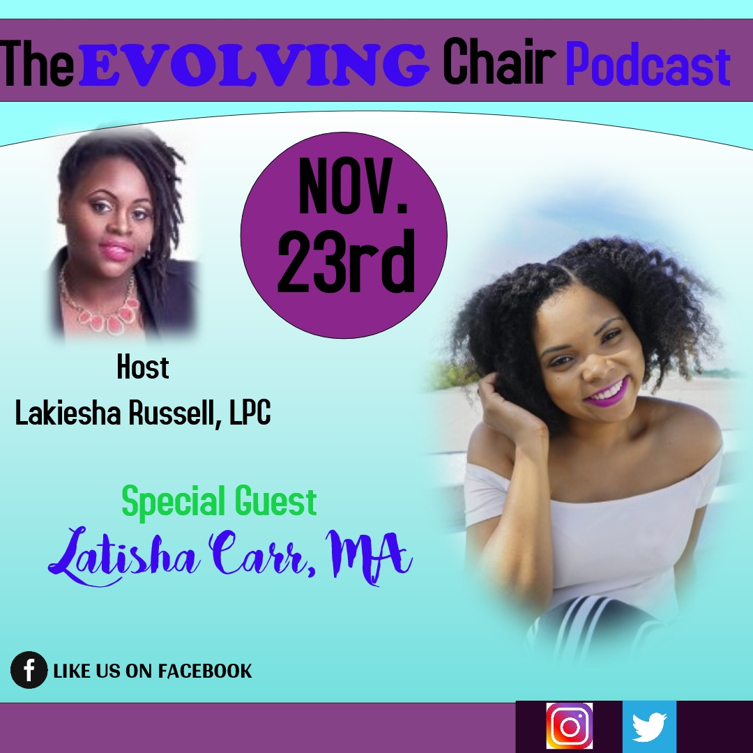 Tune into The Evolving Chair Podcast
