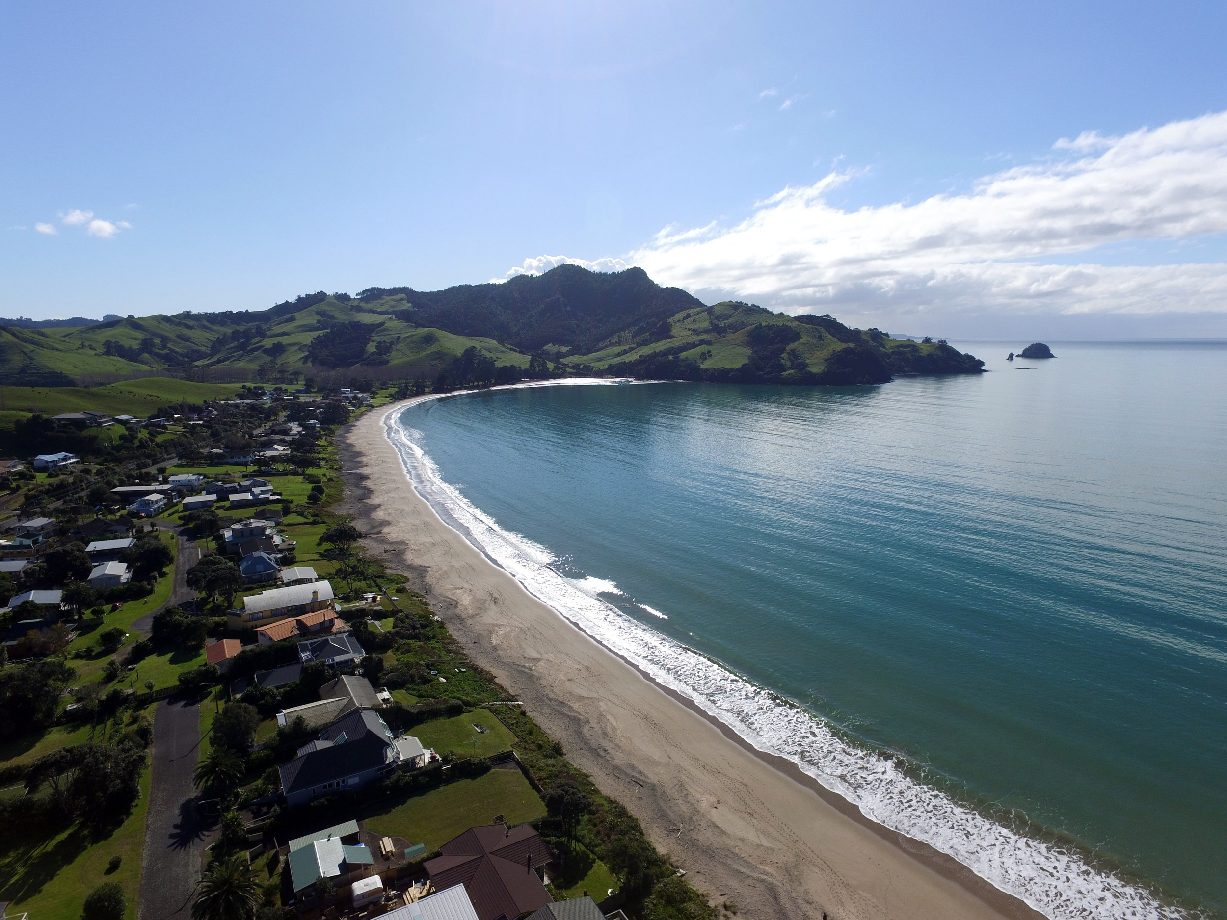 - Wharekaho's vibrant history harks back to 800AD but the area was firmly established in the 13th century by the Ngati Hei iwi Chief, Hei welcomed British explorer Captain James Cook and botanist Joseph Banks to his shores in 1769.