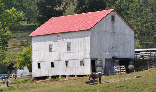 1906 Barn - A.P. WEBSTER