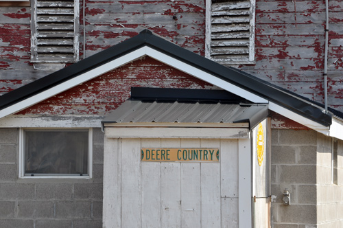 'Deere Country' barn - Canonsburg Pa.
