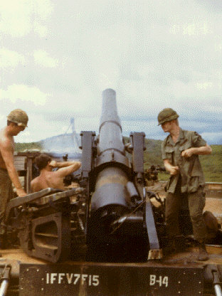 Heavy artillery in the Vietnam War