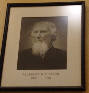 ALEXANDER W. ACHESON  David's father was a Washington County judge from 1866-1876