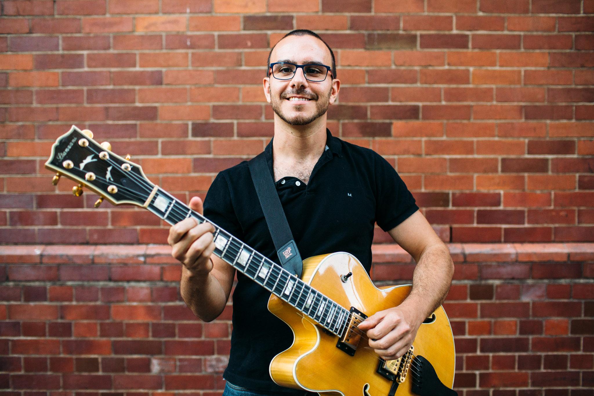 Study Guitar in Brisbane with Andrea Vocaturo
