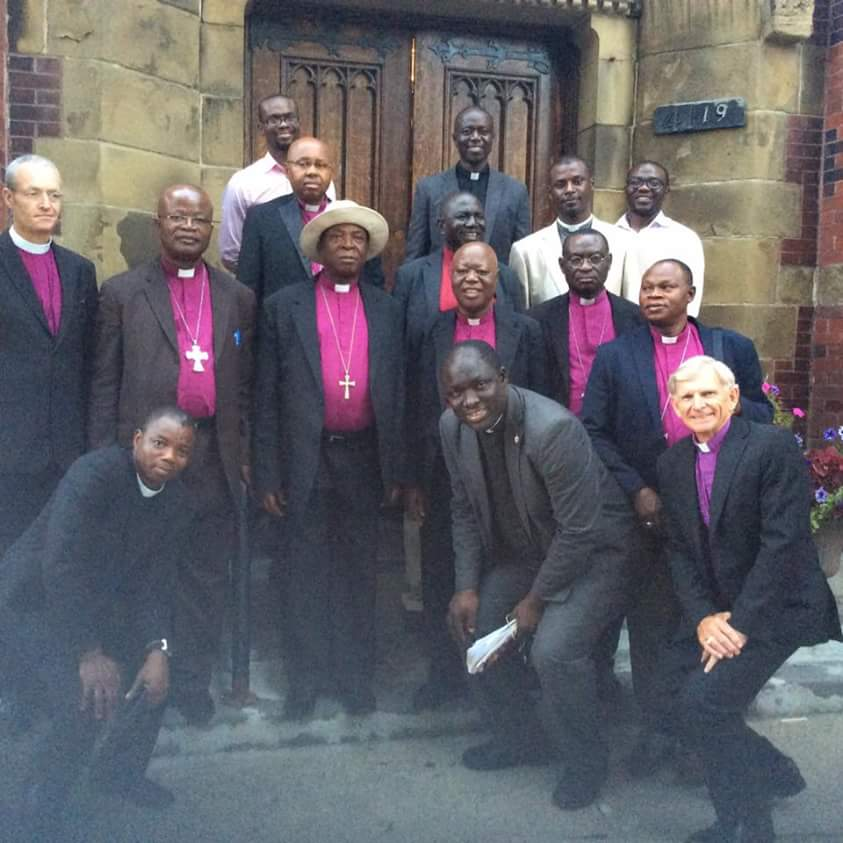 Most Rev Nicholas Okoh with his entourage to Montreal 2016    Contact