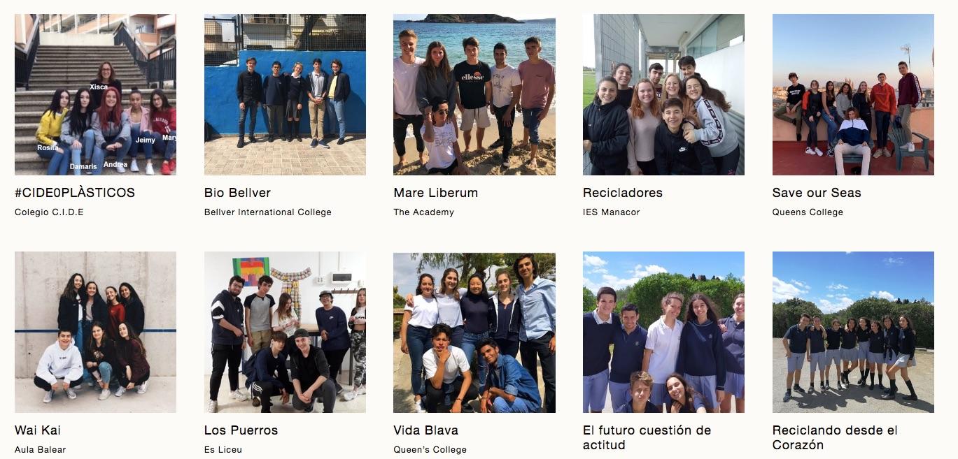 Verano 2019 CONCURSO IMPULSORES DEL CAMBIO - VER TODOS LOS PROYECTOSSe anuncian los ganadores a finales de mayo