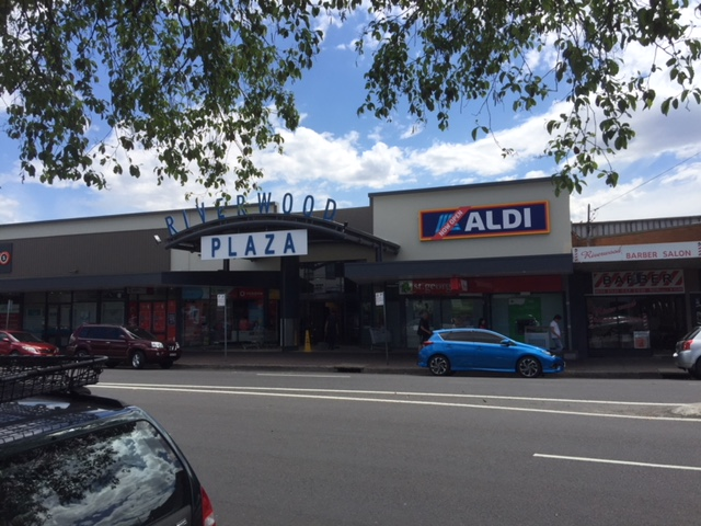 Belmore Rd street view Riverwood Plaza Shopping Centre