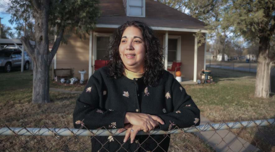 Margo Douglas was raised in the neighborhood now known as SW Bricktown, moved away and has returned to live in the house that she grew up.