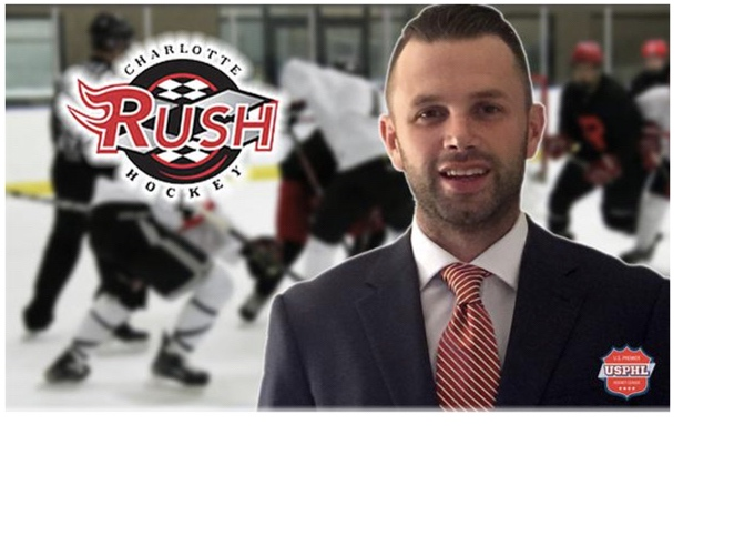 Ryan Cruthers - Owner of Charlotte Rush Hockey, USPHLHead Coach of Corpus Christi IceRays Hockey, NAHL