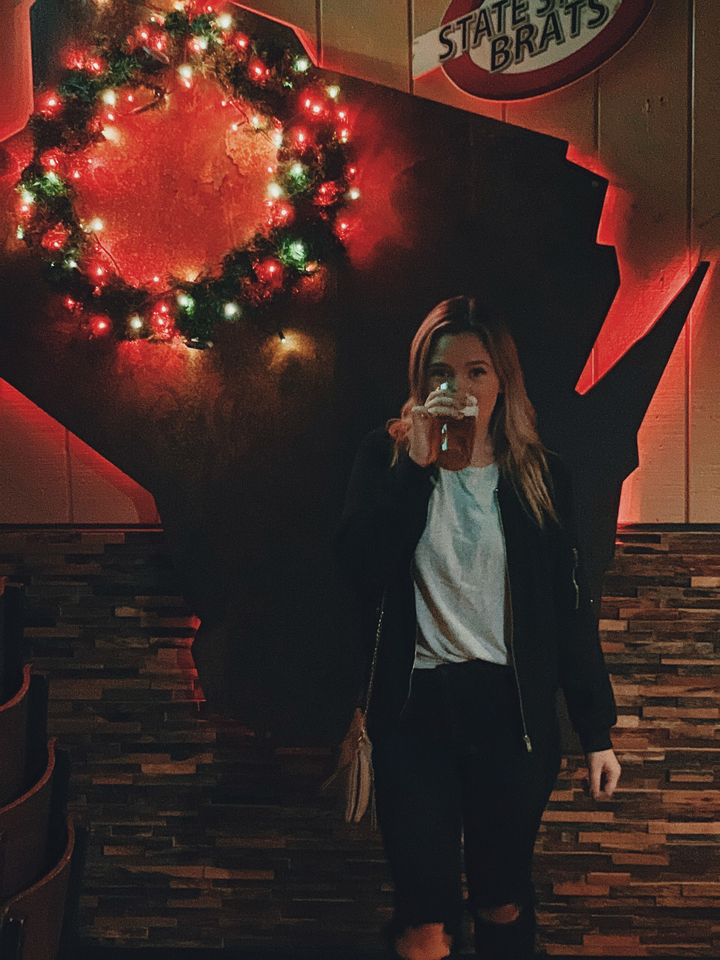 you know where i go when we dancin/christmas in wiscansin/and gettin drunk in the mansion with you*~