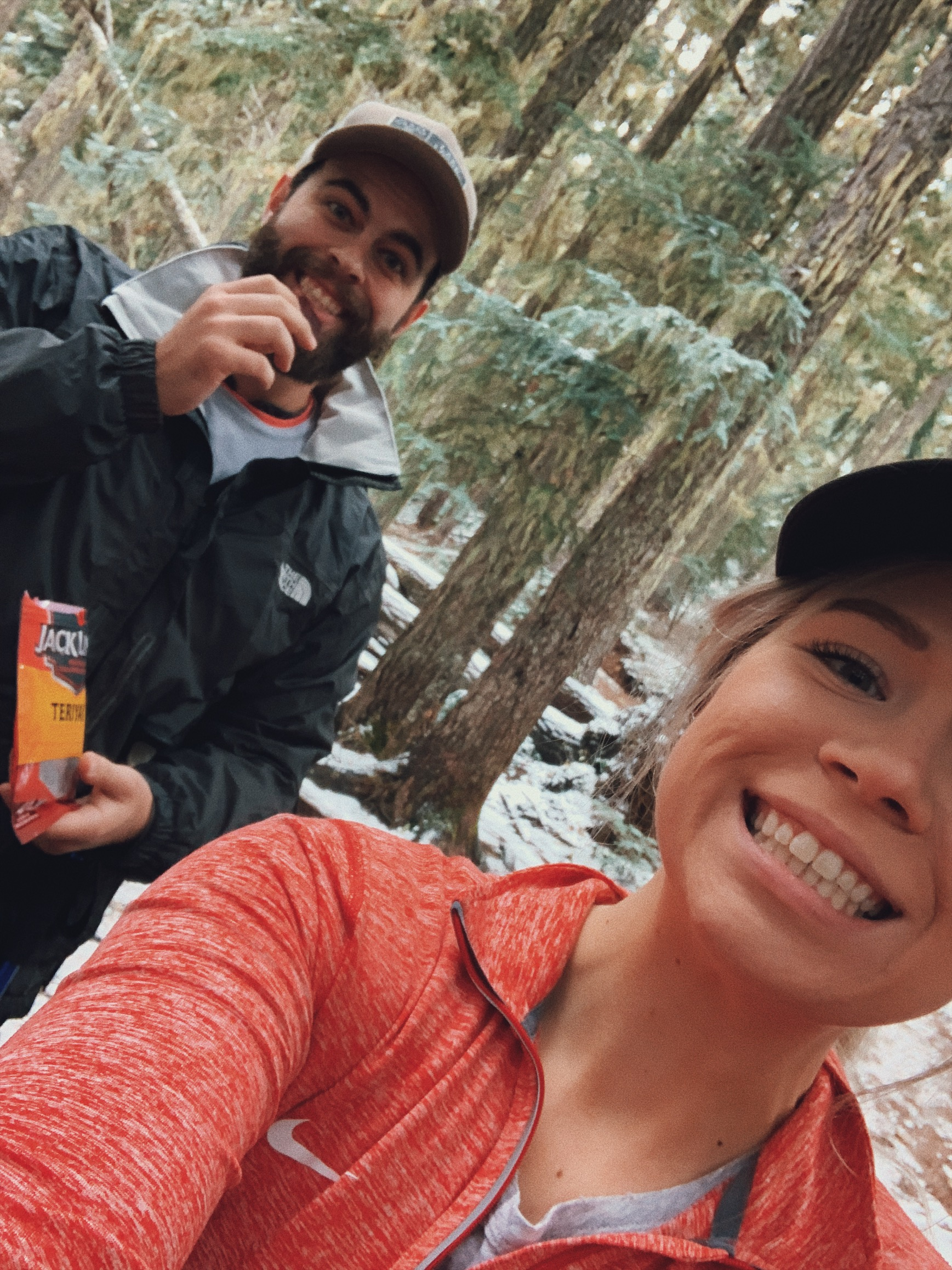 young, innocent faces not yet destroyed by 18 miles of hiking