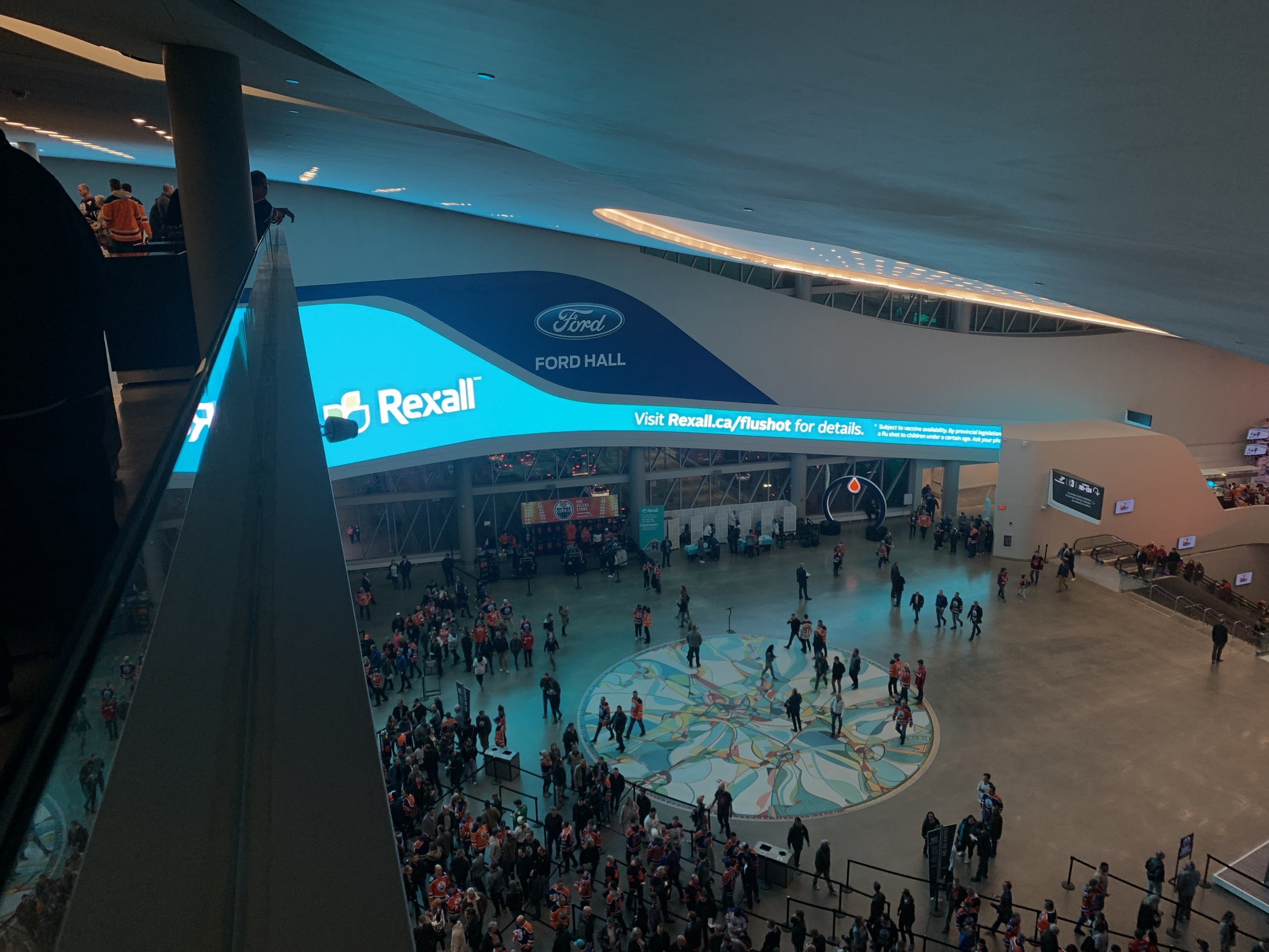 rogers place ford hall