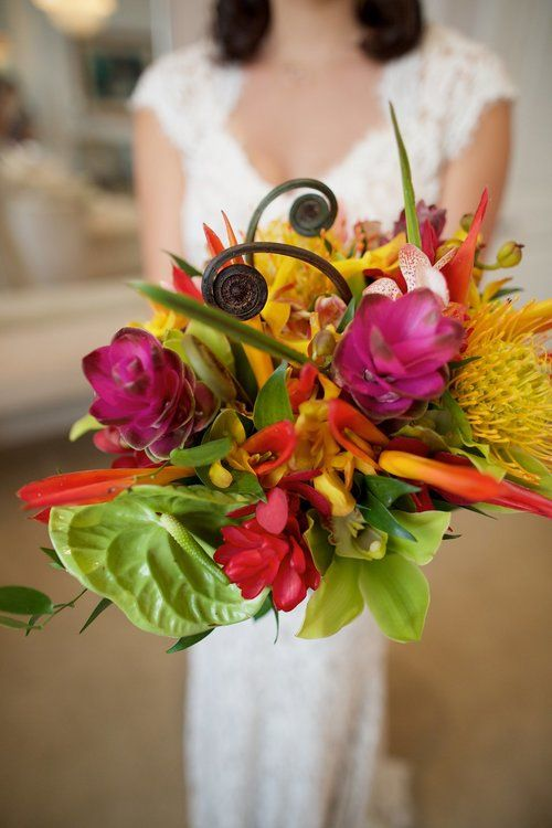 Vivacious Tropical Bouquet