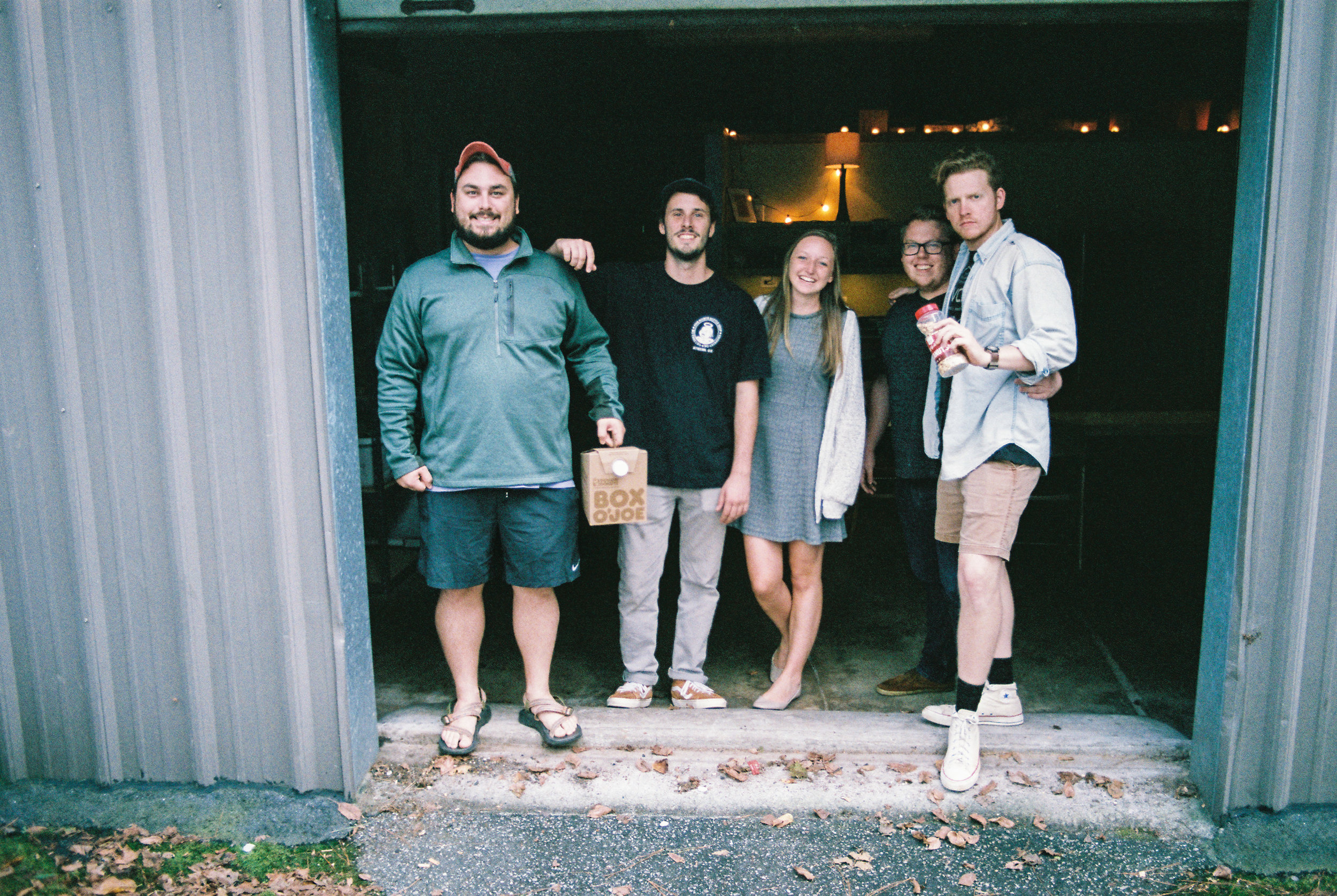 - This is the back of Chase Park, where we tracked pianos, drums and bass and some of the guitars. pictured are Brian (drums) Will and Holly our interns, Drew (Bass) and Bobby (voice). I remember that we played football in the back this day to take a break from the project. playing football with 5 people is really hard