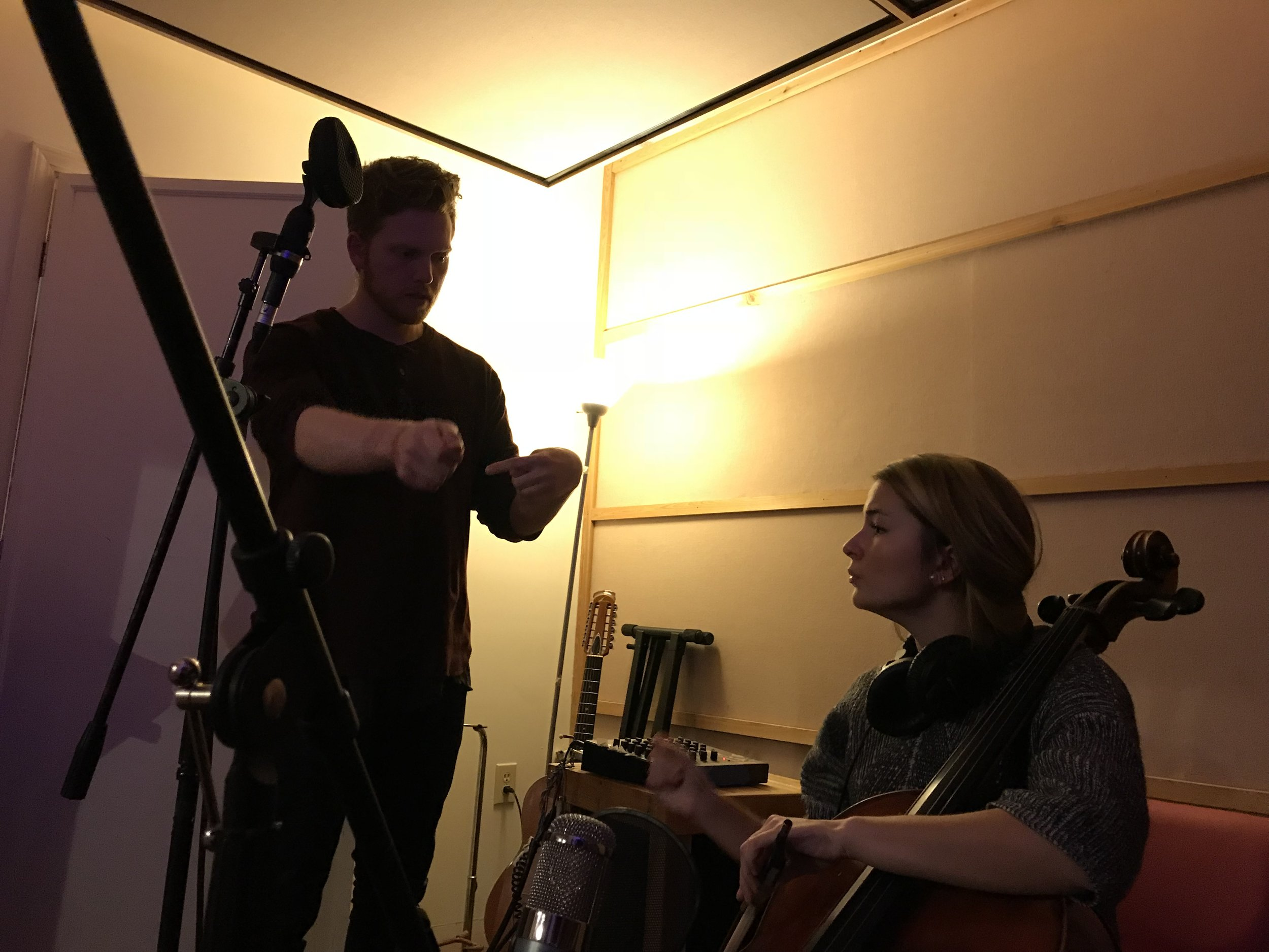 - Kirsten Boss. a true boss. Kirsten threw down some amazing cello lines for the record for a song called