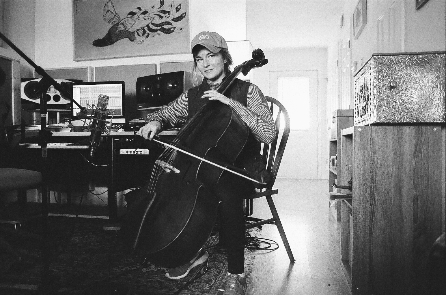 - Kirsten Boss. Cello. Artist MD sessions January 2018.
