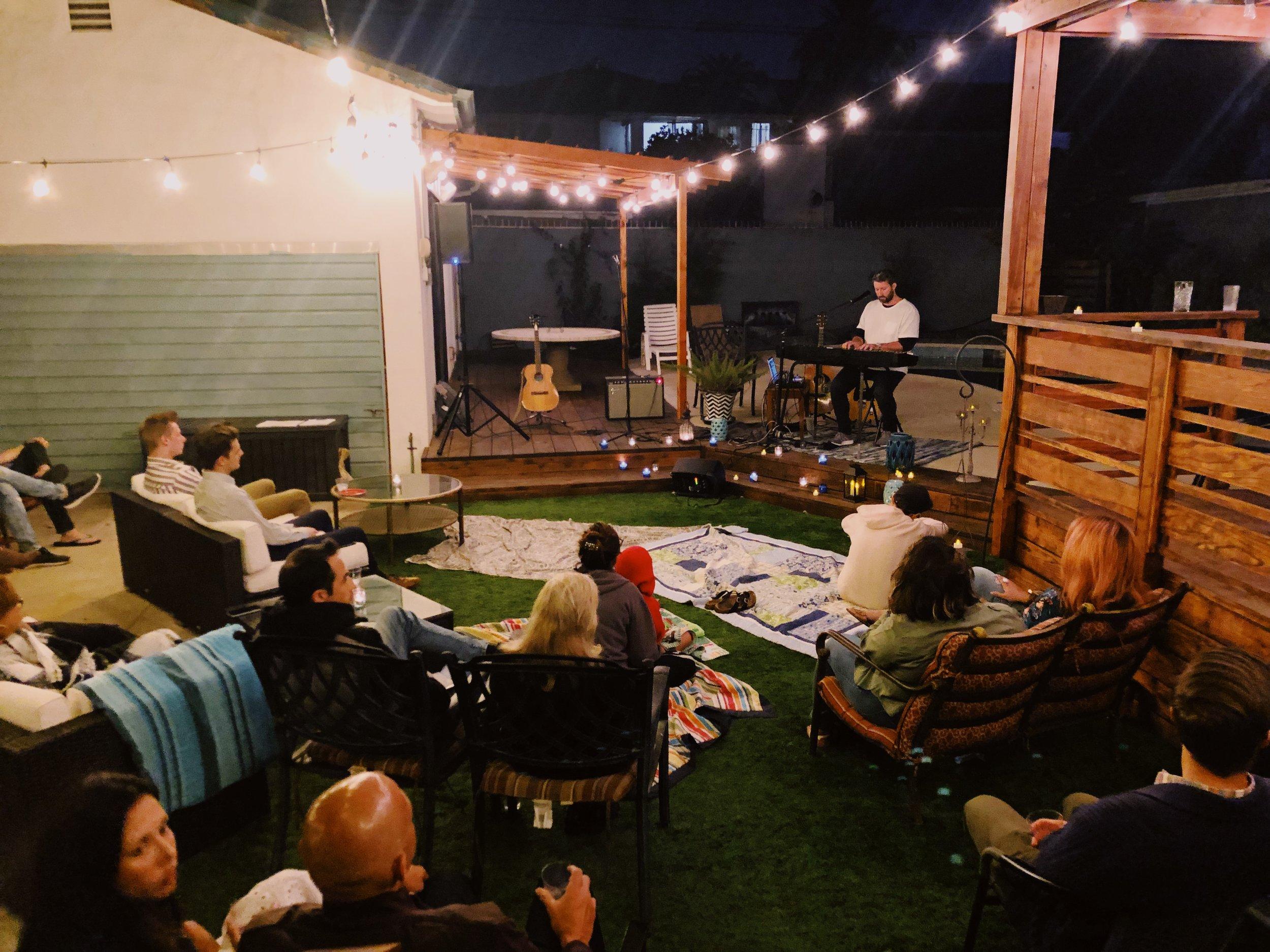 House Show with David Brymer, LA.