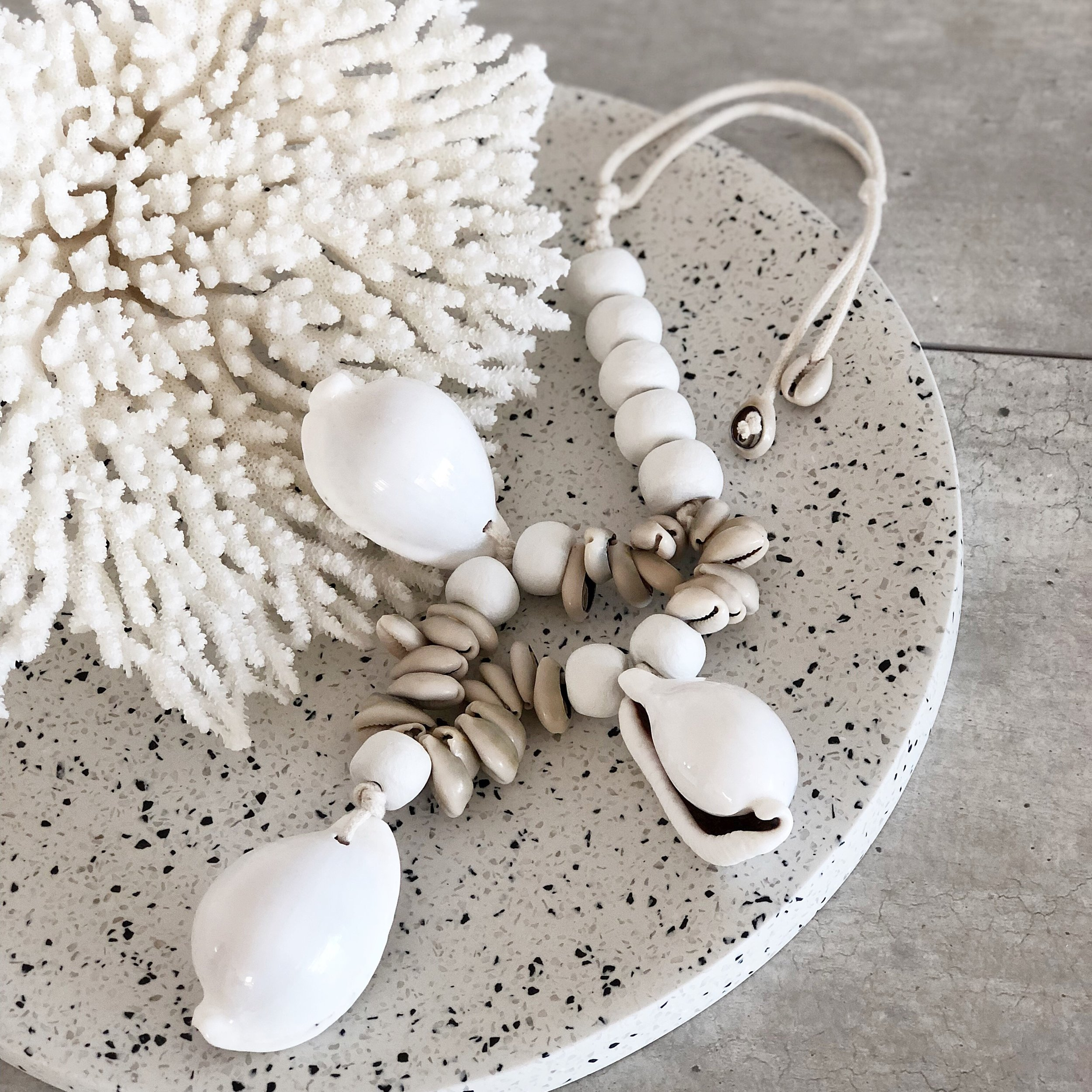Our beautiful Cowrie Garland