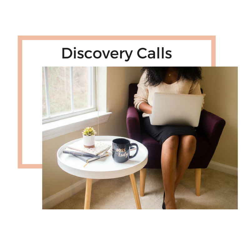 Discovery Call $49 - A 30-minute opportunity for us to chat, discuss your fertility goals, your needs, and to determine if we will be a good fit for one another.Ultimately this call will provide me with the information I need to develop a strategy to help you achieve your goals and bring you closer to your dream of motherhood.