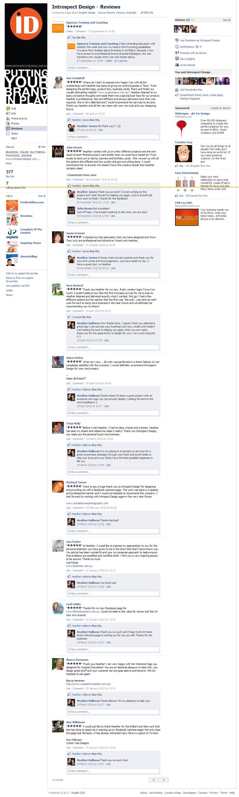 Introspect Facebook Reviews 2011.jpg