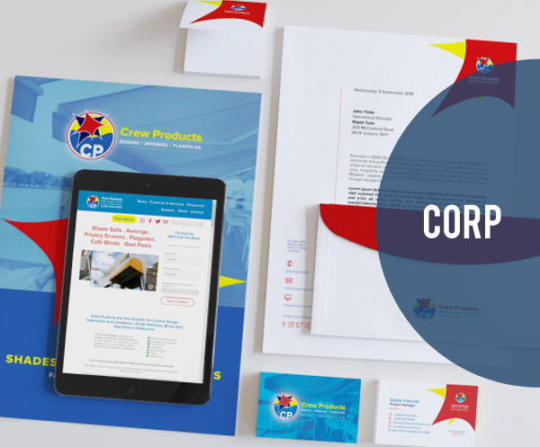 Corp Stationery Package $997.00AUD