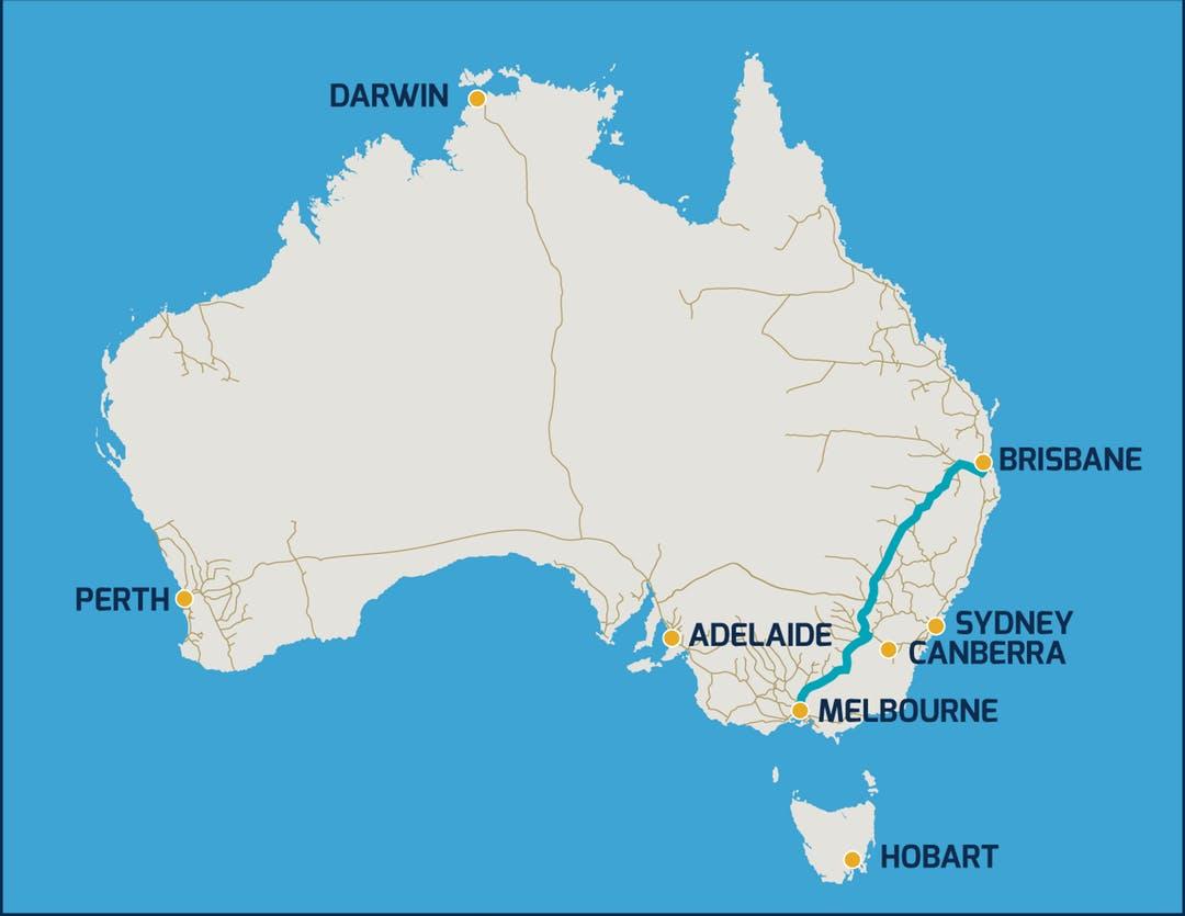 Inland Rail - QLD & NSW