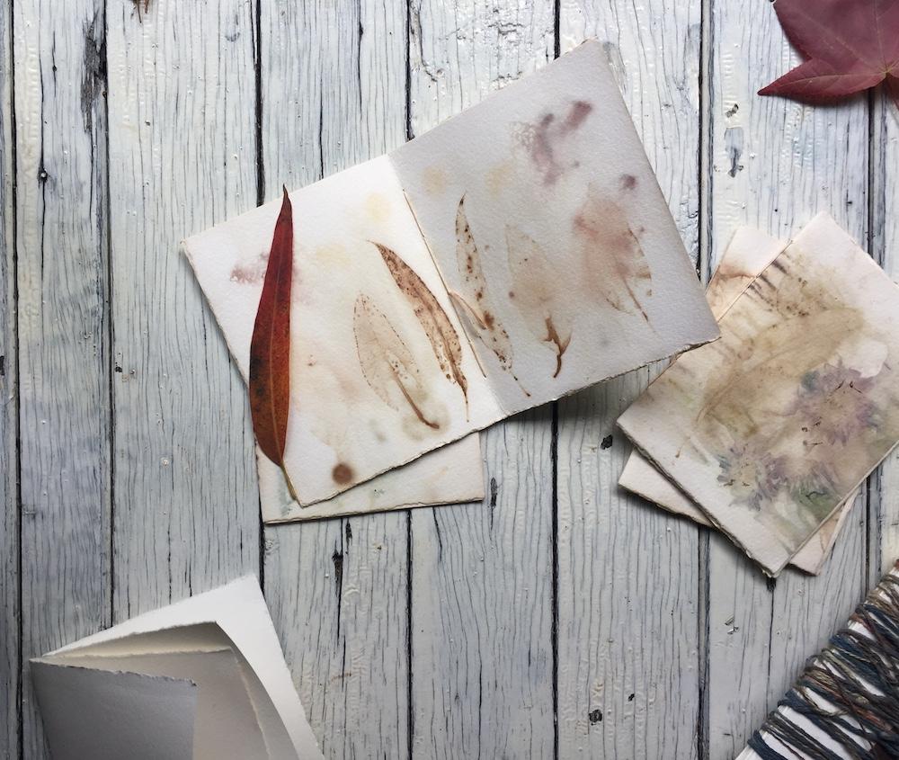 Ellie Beck Petalplum eco printing on paper hand binding book art journal how to make.JPG
