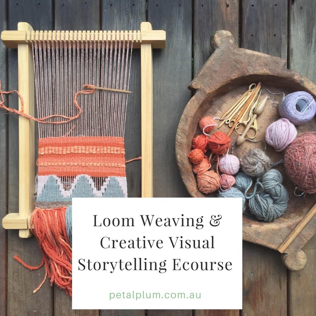 The Art & Craft of Loom Weaving : $59AU -