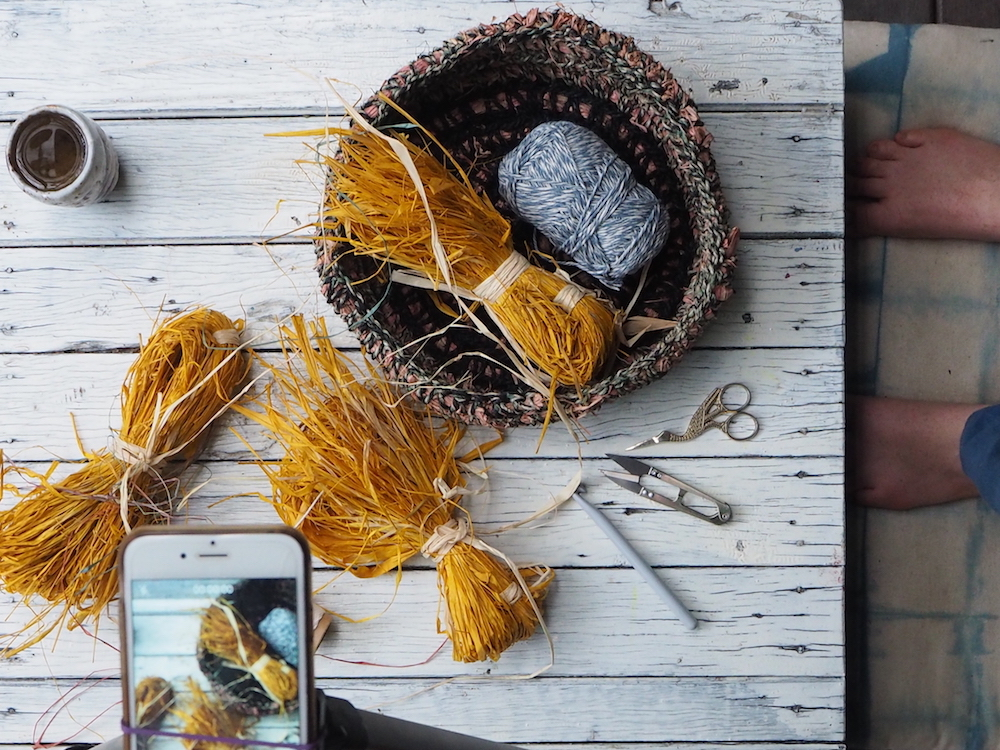 Ellie Beck Crochet basket - behind the scenes.jpeg