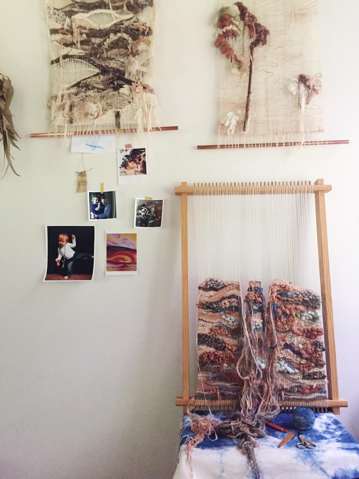 Ellie Beck Petalplum Loom Weavings My stories -  Seasons of our Creative Lives.JPG
