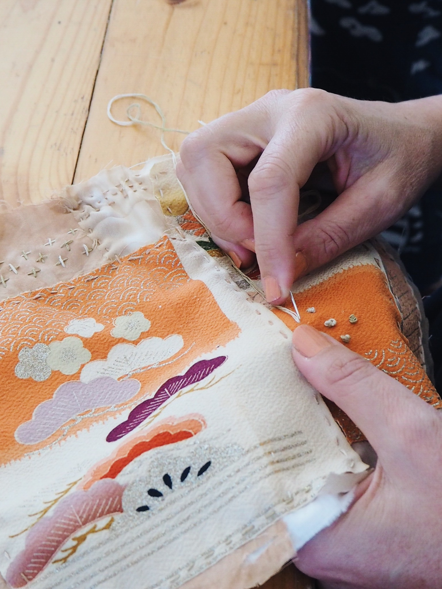 Ellie Beck Petalplum blog Mindful stitching for slow living